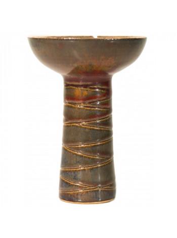 Чаша Gusto Bowls Classic Phunnel Glaze II Красно - Зеленый