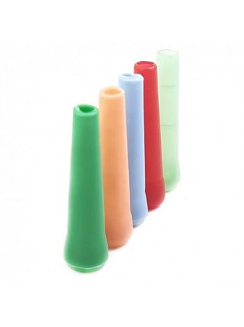 >>Мундштук одноразовый пластиковый внутренний цветной маленький 100 шт.