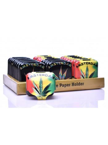 Бокс для зберігання паперу для куріння Amsterdam Freedom 5 x 5 см