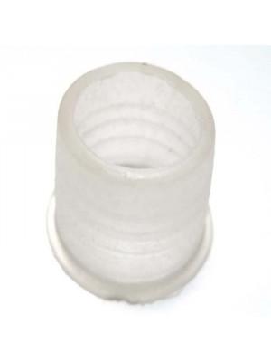 >Уплотнитель под чашу силиконовый белый тонкий