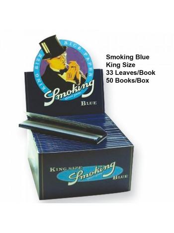 Бумага для самокруток Smoking Blue King Size 33
