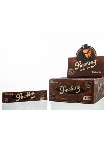 Бумага для курения Smoking Brown King Size 33