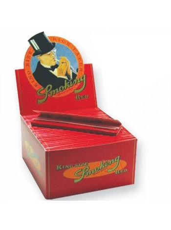Бумага для самокруток Smoking Red King Size 33