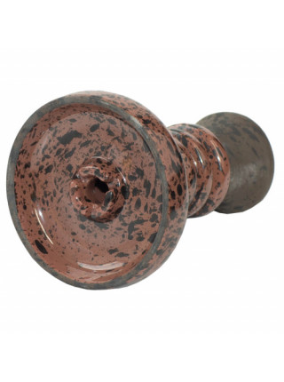 Чаша для Кальяна Tor Harmony Glaze Черно-коричневая