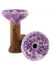 >>Чаша 2x2Hookah Medium Purple