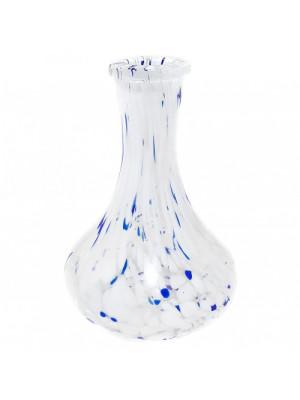 Колба Drop (Капля) белая с разводами 4026-7