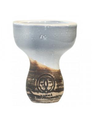 Чаша для кальяна Karma Фанел Серый