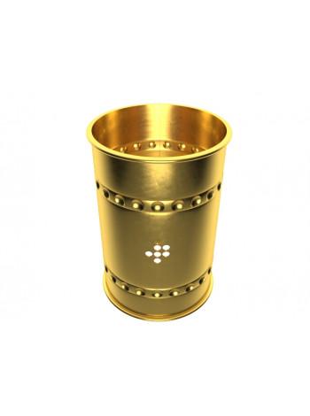 >>Колпак для кальяна золотистый открытый