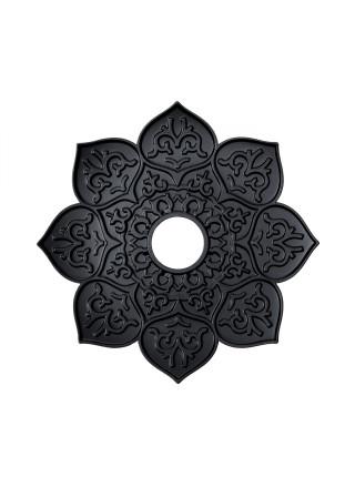 > Кальян Karma model 1.1 коричневий тарілка Brazilian