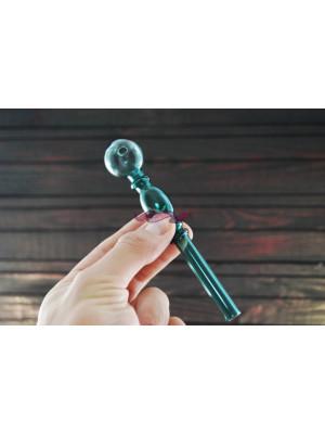 Стеклянная трубка для курения Oil Bubble Light Green