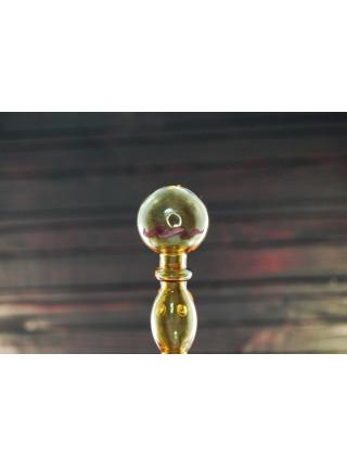 Стеклянная трубка для курения Oil Bubble Yellow