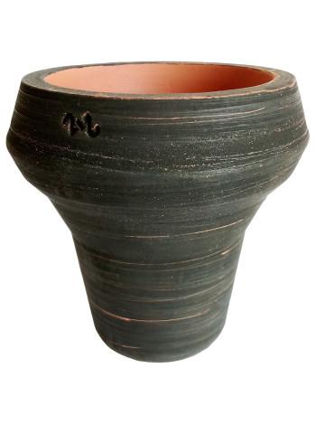 >Чаша 2x2Hookah Bomb глазурь черная