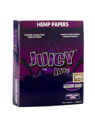 Папір для самокруток King Size Juicy Jays Blackberry Brandy