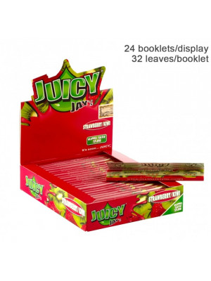 Бумага для самокруток King Size Juicy Jays Strawberry and Kiwi