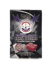 Кокосовый уголь Coco Yahya Elegant 2.5*2.5, 1 кг.