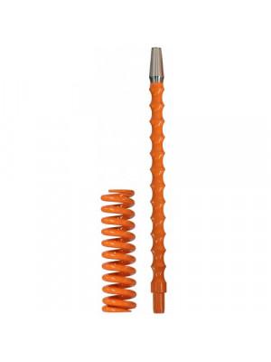 Комплект Пружина + Мундштук для кальяна Coilovers Mini Оранжевая