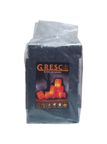 > Вугілля Gresco 1 кг в кульку