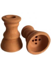 Чаша глиняная Богатырь наружная