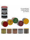Гріндер Grace Glass Amsterdam з логотипом Ganash та OM 4part- Ei: 40мм