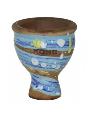 Чаша KONG Mummy Glaze Space Van Gogh Blue