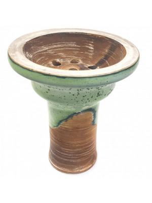 Чаша Garden Тюльпан глазурь зеленая 4106-3