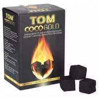 >Уголь Tom Coco Gold в коробке 1 кг.