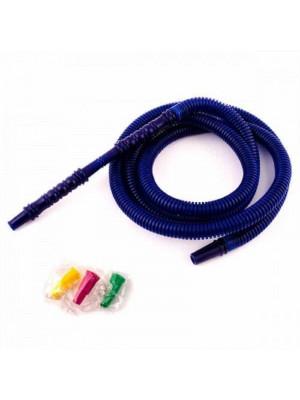 >Шланг пластиковый одноразовый синий