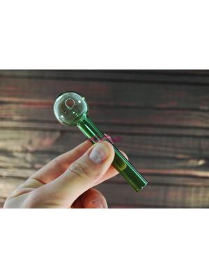 Стеклянная трубка для курения Oil Classic Color Green