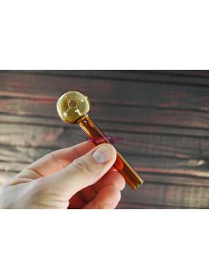 Стеклянная трубка для курения Oil Classic Color Yellow