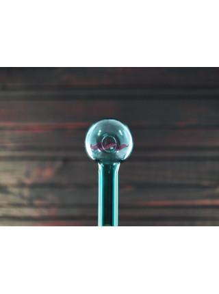 Стеклянная трубка для курения Oil Classic Color Green Light